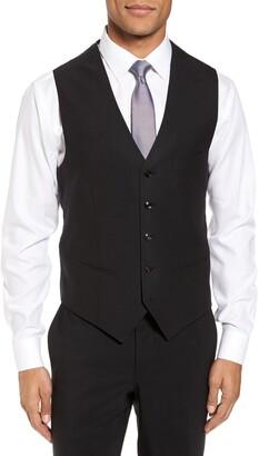 Ted Baker Slim Fit Solid Wool Vest