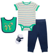 Chick Pea Four-Piece Deluxe Cactus Bodysuit Set