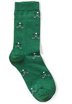 Brooks Brothers Golf-Embroidered Socks