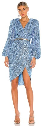 Bronx and Banco Elizabeth Midi Dress