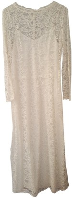 Nina Ricci White Lace Dress for Women