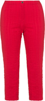 Jean Marc Philippe Plus Size Cropped cotton trousers