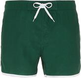 Topman Green Contrast Trim Swim Shorts