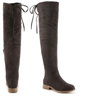 Journee Collection Mount Wide Calf Over The Knee Boot