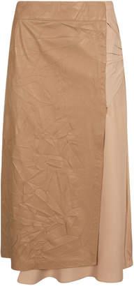 N°21 N.21 Wrinkled Skirt