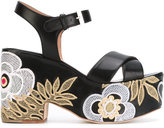 Laurence Dacade Helissa shiny sandals
