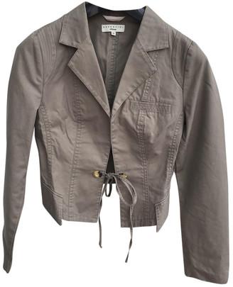 Essentiel Antwerp Khaki Cotton Jackets
