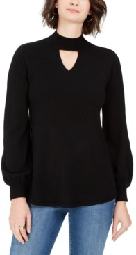 Style&Co. Style & Co Long-Sleeve Tunic Sweater, Created for Macy's