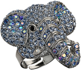 Andrew Hamilton Crawford Crystal Elephant Ring