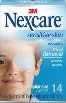 Nexcare Sensitive Skin Eye Patch Regular Size 14 ea