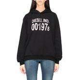 Diesel Sweatshirt Hooded Sweatshirt With New Logo Print
