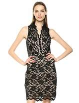 Karen Kane Women's Sleeveless LACE Dress