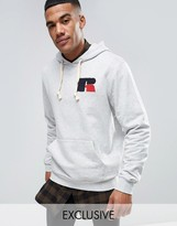 Russell Athletic Hoodie With Chenille Logo