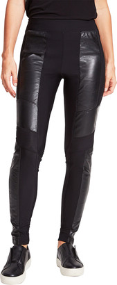 Anatomie Etherlane Pull-On Leggings w/ Lamb Leather Inserts