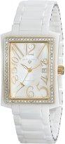 Swiss Legend Women's 10034D-WWGA Bella Analog Display Swiss Quartz White Watch