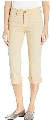 NYDJ Marilyn Crop Cuff in Marigold (Marigold) Women's Jeans