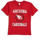 Junk Food Clothing Boy's Kick Off Arizona Cardinals T-Shirt