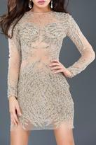 Jovani Long Sleeve Dress