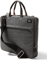 Jack Spade Men's 'Tech Oxford' Slim Laptop Briefcase - Grey