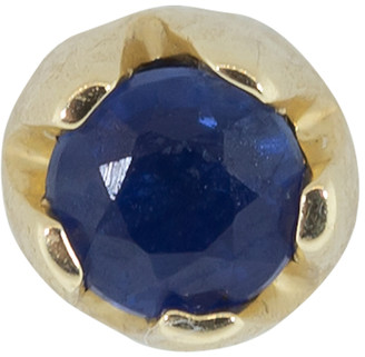 Andrea Fohrman 3.0MM Blue Sapphire Single Stud