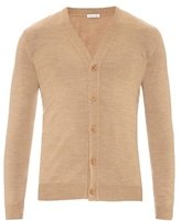 Tomas Maier Fine-knit Wool Cardigan