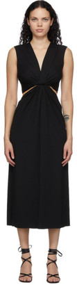 Marina Moscone Black Twist Dress