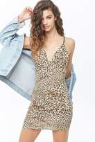 Forever 21 Leopard Print Cami Bodycon Dress