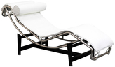 Modway White Le Corbusier Lounge Chair