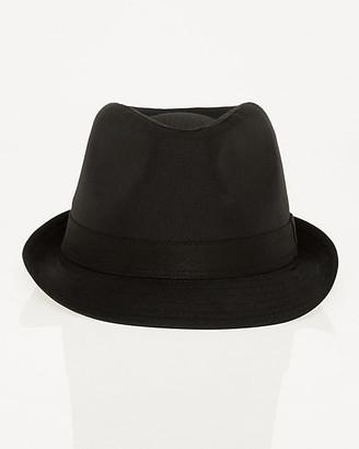 Le Château Shiny Herringbone Fedora Hat