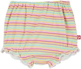 Zutano Rainbow Candy Stripe Bloomer (Baby) - Multi - 18 Months