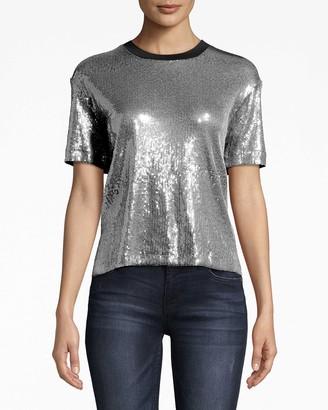 Nicole Miller Sequin T-shirt