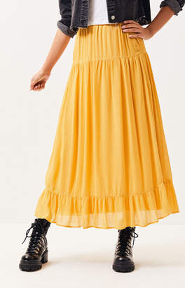 Lucca Couture Carnation Maxi Skirt