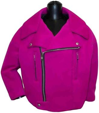 Junya Watanabe Pink Synthetic Jackets