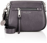 Marc Jacobs Women's Recruit Small Saddle Bag-GREY