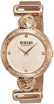Versus By Versace Women's 'Sunnyridge' Quartz Stainless Steel Casual Watch, Color:Gold-Toned (Model: SOL120016)