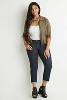 Forever 21 FOREVER 21+ Plus Size Classic Boyfriend Jeans