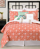 Trina Turk Trellis Coral Twin/Twin XL Comforter Set