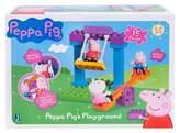 Peppa Pig Playground Adventure Construction Set - 15pc