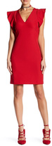 Yoana Baraschi Ruffle Shaper Dress