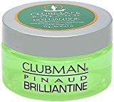 Clubman Pinaud Brilliantine Pomade 3.40 oz (Pack of 8)