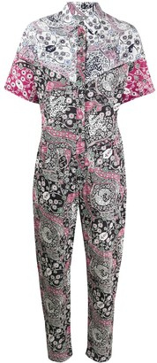 Etoile Isabel Marant Paisley-Print Jumpsuit