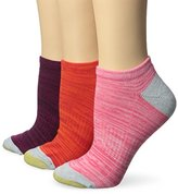 Gold Toe Women's Free Feed No Show Athletic Sock 3-Pack