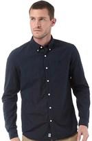 Timberland Mens Poplin Long Sleeve Shirt Dark Sapphire