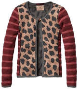 Scotch R'Belle Leopard Quilt Cardigan