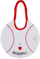 Zigozago Baseball Bib-RED, WHITE