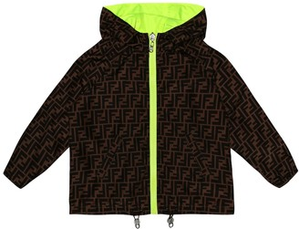Fendi Reversible rain jacket