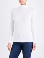 Sunspel Turtleneck cotton-jersey top