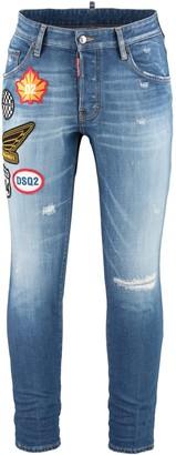 DSQUARED2 Skater 5-pocket Skinny Jeans
