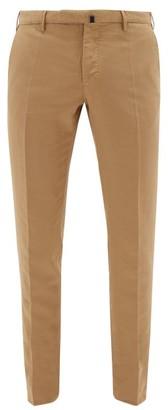 Incotex Chinolino Tailored Cotton-blend Chinos - Brown