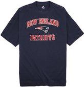 Majestic New England Patriots NFL Heart & Soul III Men's T-Shirt - 3XLT